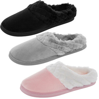 Aerosoles Women's Cushioned House Slippers Mule Clogs Warm Indoor Outdoor Shoes