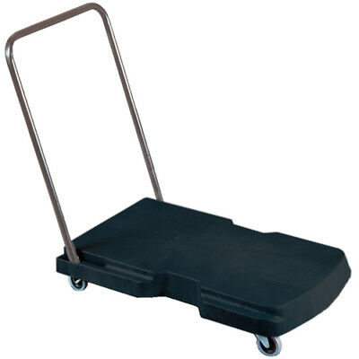 Rubbermaid FG440000BLA Triple Trolley