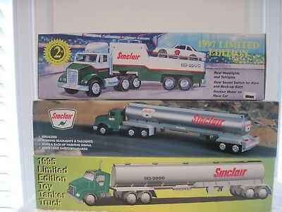 1995 1996 1997 Sinclair Limited Edition Gasoline Station Trucks All Serialized