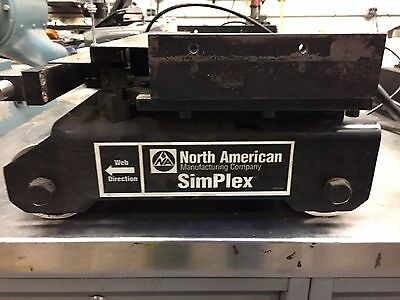 "Mark Andy 4120-4150 10"" press web guide. Complete and working"