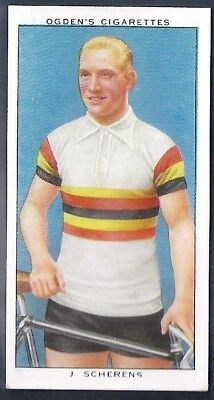 Ogdens-Champions Of 1936-#18- Cycling - Scherens