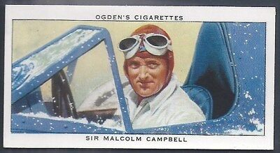 Ogdens-Champions Of 1936-#35- Motor Racing - Malcolm Campbell