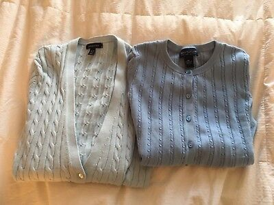 Women's Bundled Lot of 2~Mixed Name Brand Cardigans Size MP