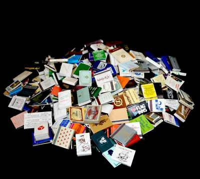 Vintage group of over 330 souvenir matchbooks from 1970s & 80s world wide