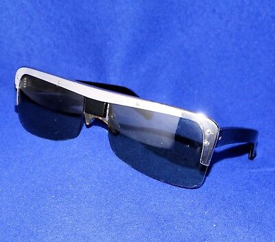 d3b8f599dde RARE BLACK COOL Ray Polaroid-N135-Sunglasses- James Bond Thunderball ...