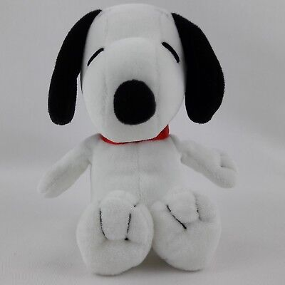 TY Beanie Babies Baby Snoopy Dog Peanuts Song Musical Toy Plush Stuffed Animal