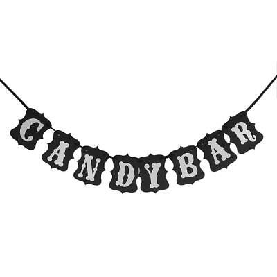 CANDY BAR Bunting Banner Wedding Party Photo Prop Hanging Garland Decoration