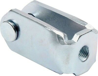 "Brake Pedal Clevis 3/8""-24 connects pedal to master cylinder"