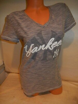 NEW YORK YANKEES Nike Team Gray Blue Button Down Jersey