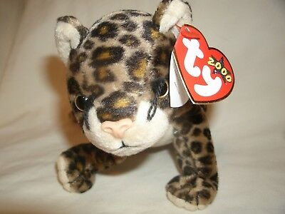 fda83a49184 TY BEANIE BUDDIES - SNEAKY the Leopard 2000 -  8.00