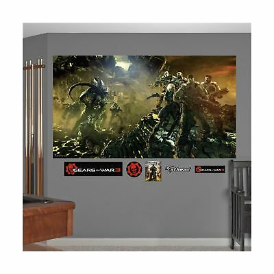 FATHEAD Gears of War 3: Battle Mural Graphic Wall Dcor NO TAX