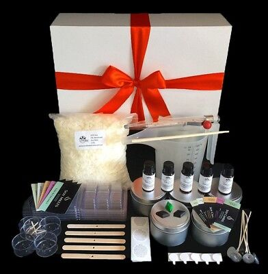 Soy Candle Making Kit - POURING JUG, Melts and Labels