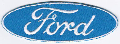 Ford Motor Company Automaker Car Racing Badge Iron On Embroidered Patch