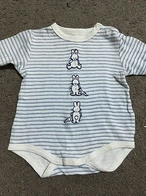 Baby Boys Long Sleeve Romper Size 0000 GUC