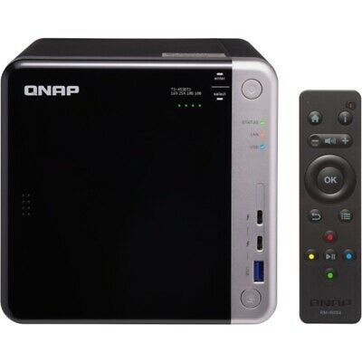 QNAP TS-453BT3 40tb DAS-NAS 4x10000gb Seagate IronWolf Pro Drives