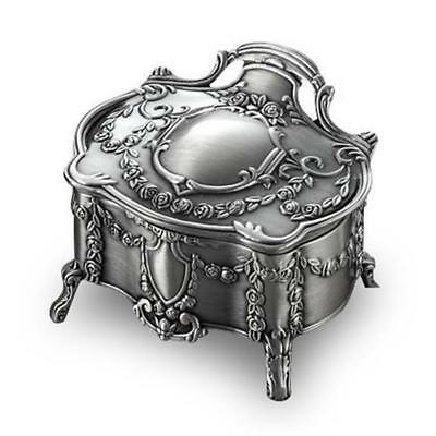 Silver Lord of the Rings Nenya Galadriel 's Vintage Jewelry Box Cosplay Props