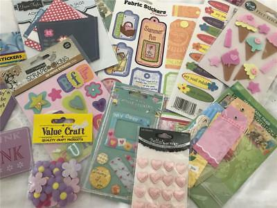 Girl Scrapbook Or Card Making Sticker & Embellishment Pack x 10 NEW!  (pack 7)