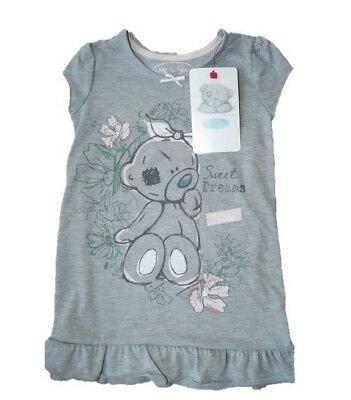 Girls Officially Licensed Tatty Teddy Nightdress Nightie Pyjamas Nighty Age 2- 4