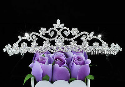 Bridal Wedding Pageant Tiara Prom Accessories use Austrian Crystal AT1530
