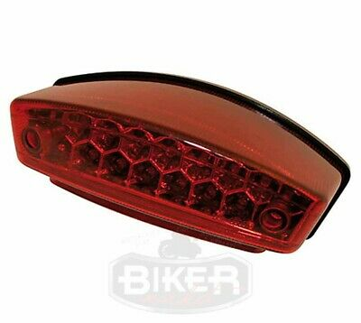 Fanale stop a Led Monster Faro posteriore led Ducati cafe racer moto custom