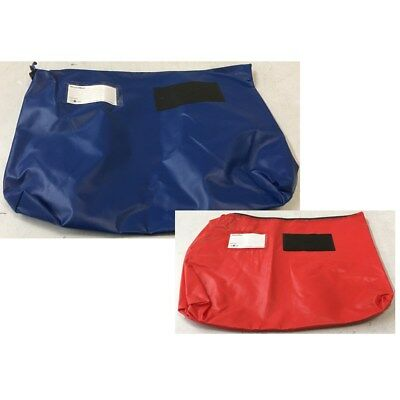Val-U-Mail Large Security Mailing Post Gusset Pouch GP2 Red/Blue Colour Choice.