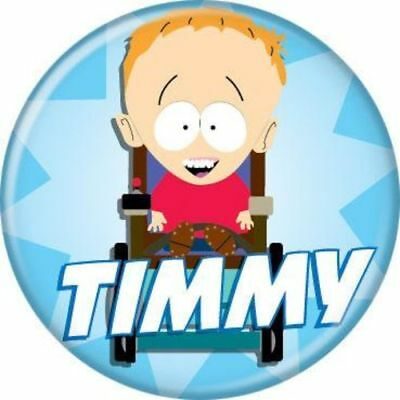 South Park Timmy Pin Button