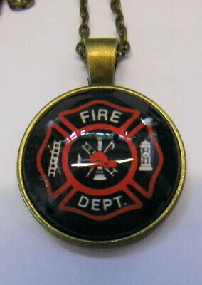 Halskette Feuerwehr Necklace Fire Fighter x