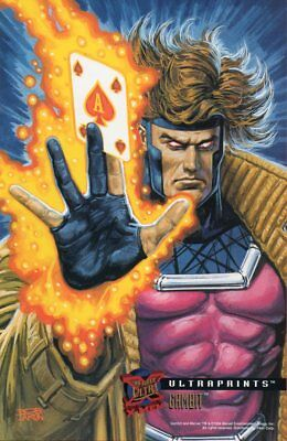 '95 FLEER ULTRAPRINTS X-MEN - GAMBIT (Bob Larkin)
