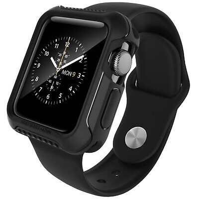 Rugged Protective Case For Apple Watch Series 2 42 mm Ultra Slim Matte Black New
