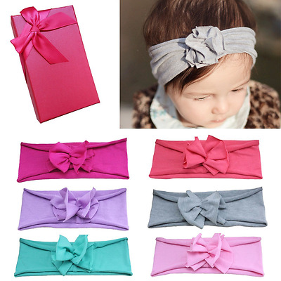 Elesa Miracle Baby Hair Accessories Lovely Baby Girl's Gift Box with Bow Flower