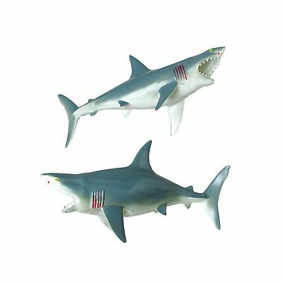 U.S. Toy Great White Shark Squeaky Bath Tub Toy NO TAX