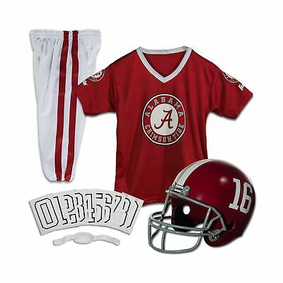 Franklin Sports NCAA Deluxe Youth Team Uniform Set Alabama Crimson Tid... NO TAX