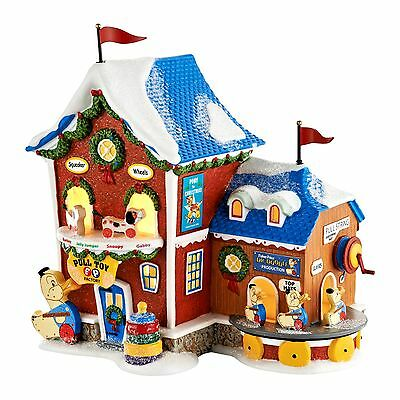 Fisher-Price Pull Toy Factory Dept 56 North Pole Series 4050962 Christmas New