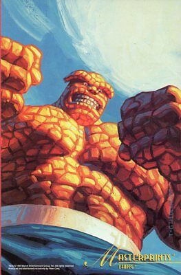 Marvel Masterpieces 1994 Jumbo - Greg & Tim Hildebrandt - The Thing