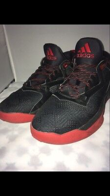 best sneakers f1080 711e5 Adidas Men s Size 10.5 D Lillard 2 Basketball Shoes - Black Red F37124