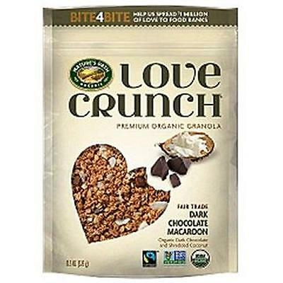 NATURE'S PATH Organic Granola Dark Chocolate Macaroon 'Love Crunch' 325g