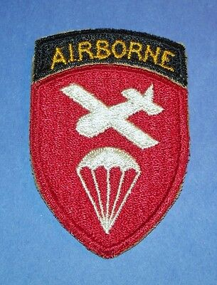 Original Cut-Edge Ww2 Airborne Paratrooper Command Patch