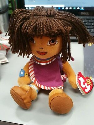 TY DORA the EXPLORER BEANIE BABY - TANZANIA VERSION