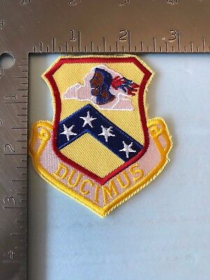 """USAF 189th ARKANSAS AIR NATIONAL GUARD GROUP PATCH (AFK-1) """"DUCIMUS"""""""