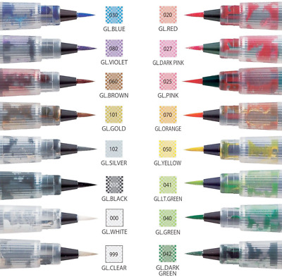 ZIG Wink of Stella Brush Pen - 16 Colours - FAST 'N FREE Delivery