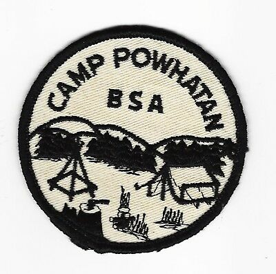 Boy Scout   Camp Powhatan  Early 60's Pp   Blue Ridge Council       Va