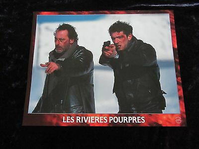 Crimson Rivers lobby cards - Jean Reno, Vincent Cassell  French set of 8 stills