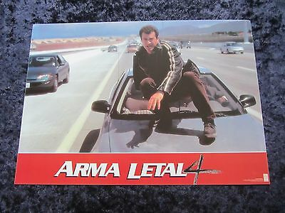 Lethal Weapon 3 lobby cards - Mel Gibson, Danny Glover