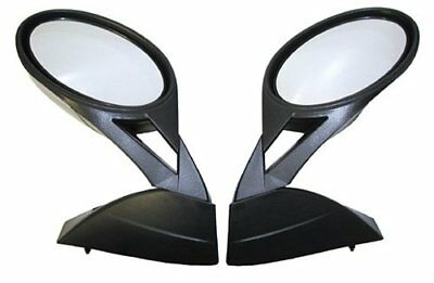 SPI SM-12181 Snowmobile Left and Right Mirrors Fits All Polaris Edge