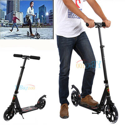 Folding Scooter Commuter Big Wheel W/Suspension Fashion Scooter For Adult Child