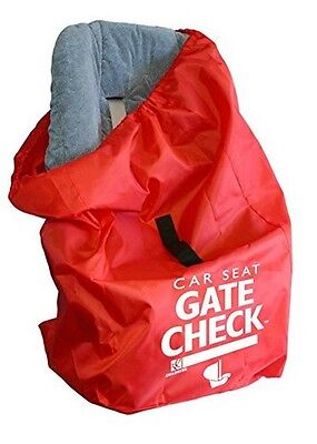 J. L. Childress Gate Check Air Travel Protection Bag for Car Seats, Red *NEW