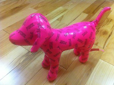 Victoria's Secret Love Pink Limited Edition Large Pink Leather Doggie Puppy Dog