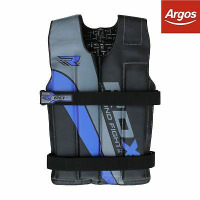 RDX 18KG Weighted Vest - Blue.