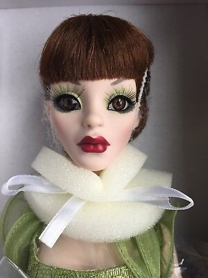 "Tonner Wilde Imagination Evangeline Parnilla Ghastly Mossy Tombstone 18"" Doll LE"