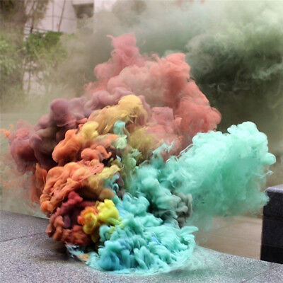 Smoke Cake Smoke Effect Show Round Bomb Photography Aid Toy Divine Gift